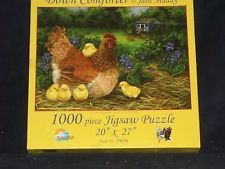 DOWN COMFORTER 1000 PIECE JIGSAW PUZZLE BY JANE MADAY