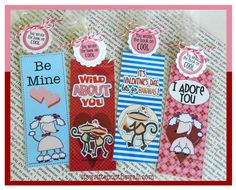Valentine's Day book marks all wrapped Up