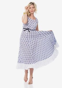 White Maxi Dress with Indigo Print - £75 http://www.ker-i.com/collections/summer-clothes-collection/products/white-maxi-dress-with-indigo-print