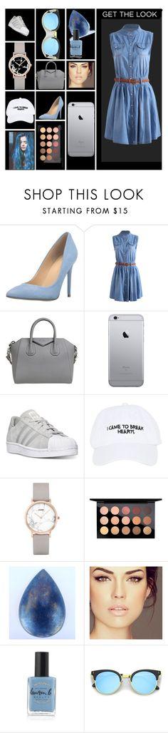 """Bez naslova #32"" by amiinaah ❤ liked on Polyvore featuring Ivanka Trump, Givenchy, adidas, Nasaseasons, CLUSE, MAC Cosmetics, Lazuli and Lauren B. Beauty"