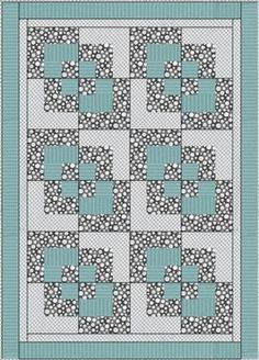 CORNER PLAY DOWNLOADABLE 3 YD QUILT PATTERN