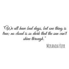 Miranda Kerr Quote | via Tumblr