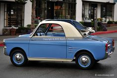 1959 Fiat 500 Autobianchi Bianchina Transformabile Coupe Micro-Car