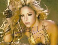 Shakira Autograph 8x10 Sexy Signed Photo 3 COA