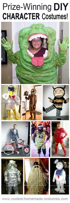 Prize-Winning Homemade Character Costumes - Coolest Halloween Costume Contest