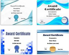 Free Editable Certificate Template   Customize Online & Print at Home Certificate Maker, Award Certificates, Certificate Templates, Powerpoint Free, Powerpoint Background Design, Student Awards, Online Printing, Names, Award Display