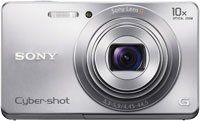 Sony Cyber-shot DSC-W690 16.1 MP Digital Camera with 10x Optical Zoom and 3.0-inch LCD (Silver) (2012 Model) $179