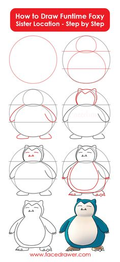 Snorlax is your favourite Pokemon? Learn how to draw chubby Snorlax. Just follow along the easy steps and learn how to draw fat Snorlax.