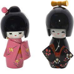 As centenárias bonecas Kokeshi