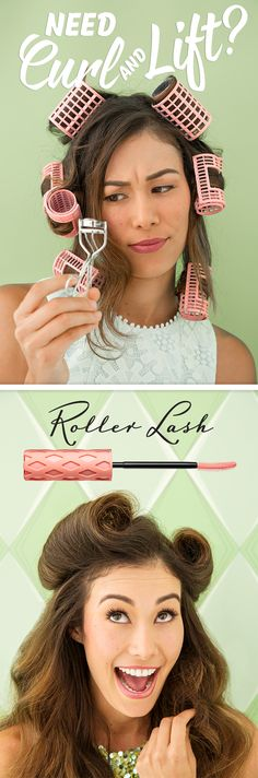 Roller lash super-curling & lifting mascara gives you all the curl power your lashes need...no eyelash curler necessary! #benefitbeauty