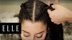 Dutch Braid Pigtails in 60 Seconds | ELLE