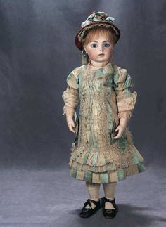 The Great Man's Doll: 40 Stunningly Beautiful French Bisque Bebe by Leon Casimir Bru,The Anne Rice Collection