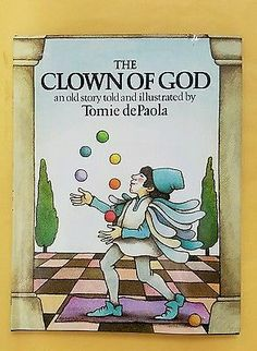 The Clown Of  God Tomie De Paola 1st Signed, DJ, Children's 1978 illustrated