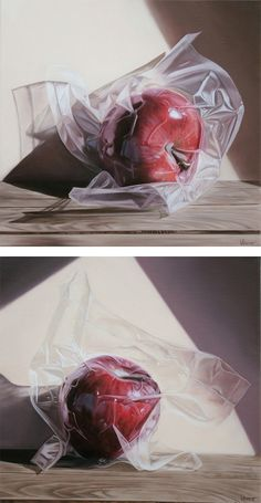 Realistic Still Life Paintings by Vesna Bursich
