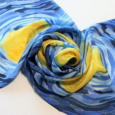 Modal Scarf - Primary Zen-cat scarf by VIDA VIDA G3t5cRV