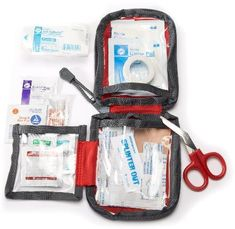 The REI Day Hiker First-Aid Kit provides essential medical supplies for up to 2 people going on day hikes. Stuff this in any camper, backpacker or hikers stocking to ensure they have what they need to prep and care for the unexpected wounds.