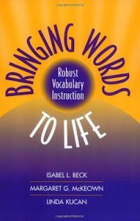 Bringing Words to Life: Robust Vocabulary Instruction by Isabel L. Beck, Margaret G. McKeown, Linda Kucan 1572307536 9781572307537 Bringing Words To Life: Robust Vocabulary Instruction New Vocabulary Words, Vocabulary Instruction, Receptive Language, 4th Grade Reading, Spelling Words, Speech Therapy Activities, Teaching Tips, Word Work, New Words
