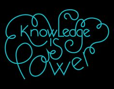 Knowledge is power lettering Knowledge Is Power, Neon Signs, Lettering, Illustration, Products, Scientia Potentia Est, Illustrations, Letters, Texting