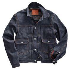 『 RRL 』より「デニムジャケット」になります。 16.25オンスのライトハンド コットンツイルで仕立てた1950年代風のデニムジャケットです。 ブランケットライナーが施されており防寒性高く仕上げられております。 これからの経年変化が楽しめる米国製のデニムジャケットです!