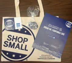 November 26 is Small Business Saturday! Support your local businesses and shop small. You can also pick up your FREE Shop Small gifts from the Park Ridge Chamber - 720 Garden Street. We have bags, pens, pins, balloons, signage,floor mats, and more (while supplies last)!