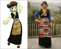 Chuba (ཕྱུ་པ།) : Tibetan Traditional Clothing