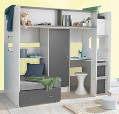 perfect for a small room and a big boy