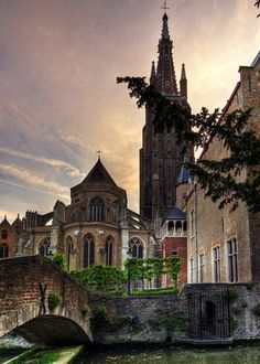 Bruges Belgium. Louis the XIV was not allowed in Venice, so he built Bruges.