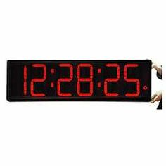 Jumbo LED Timer Clock with 9 Numerals - for above the viewing room window in the arena