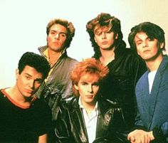Duran Duran, remember the popped collars?