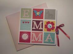 Babykarte für Emma