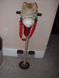 POGO PONY POGO STICK HORSE W/ SOUND JM ORIGINALS CHILDS COWBOY COWGIRL PONY #jmoriginals