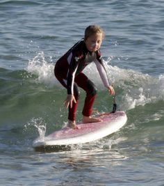 surfing and kids
