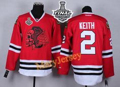 Only $34.88 please email me at maryjerseyelway@gmail.com for Blackhawks 2 Duncan Keith Red(Red Skull) 2015 Stanley Cup Stitched NHL Jersey