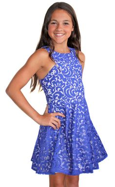 Sally Miller Cassie Dress for Tweens Easter Dresses For Tweens, Sally Miller, Cut Sweatshirts, Spring Dresses, Dresses 2016, Discount Clothing, Tween Girls, Fashion 101, Fit And Flare