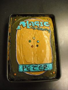 Magic the Gathering cake