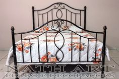 Metal Furniture, Blacksmithing, Cribs, Iron, Bed, Inspiration, Home Decor, Antique Iron Beds, Antique Beds