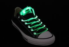Glow in the dark shoelaces!  Perfect for those hard to shop for pre-teen boys.