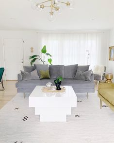 You guys! As I've mentioned already, I'm taking part in the Something Different Summer Home Tour with 20 other brilliant interior stylists,… Interior Stylist, Rooms Home Decor, House Tours, Couch, Living Room, Modern, Table, Summer, Decorating Ideas
