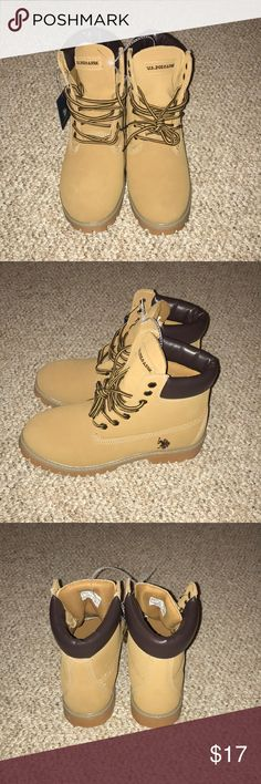 BOOTS Never worn U.S. Polo Assn. Shoes Boots