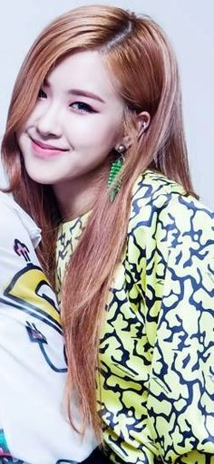  Update  Rosé. Main Vocalist of the girl group BlackPink. Single. Is from Australia and can speak English fluently she plays the guitar