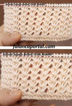 Knitting Videos, Knitting Stitches, Baby Knitting, Chrochet, Knit Crochet, Crochet Hats, Knitted Baby Clothes, Afghan Patterns, Diy And Crafts