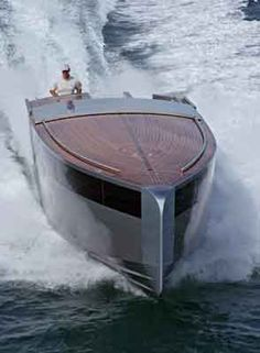 """Limo Tender for """"A"""" Yacht by Philippe Starck"""