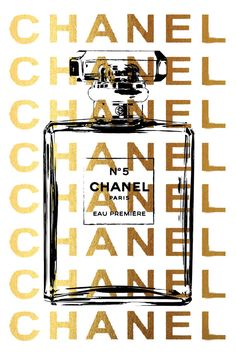24x36 large Chanel posterdigital file instant by hellomrmoon