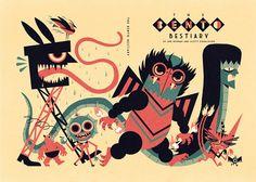 The Bento Bestiary / Ben Newman | Design Graphique