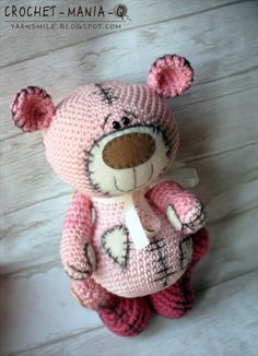 Crochet bear. (Inspiration).