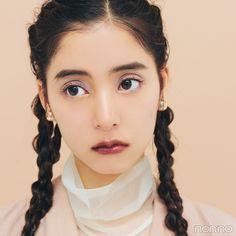 ルナソルの限定アイパレットで♡ 秋の目元はカラフル! 【新木優子のメイク連載】   non-no Web ファッション&美容&モデル情報を毎日お届け! Diy Beauty, Beauty Makeup, Hair Makeup, Japanese Models, Japanese Girl, Cute Makeup, Makeup Looks, Girl Number For Friendship, Asian Make Up