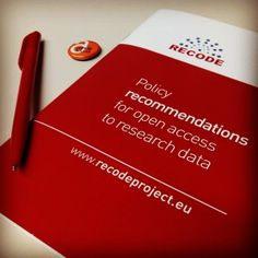 Policy Recommendations for Open Access to Research Data : OpenAIRE blog