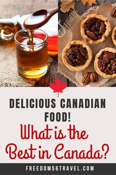 Traditional Canadian Food is some of the best in the world! The national dishes of Canada include the sweet, savory, boozy and delicious! Quebec, Canadian Food, Canadian Recipes, Vancouver, Toronto, Drinking Around The World, National Dish, Macaron, Unique Recipes
