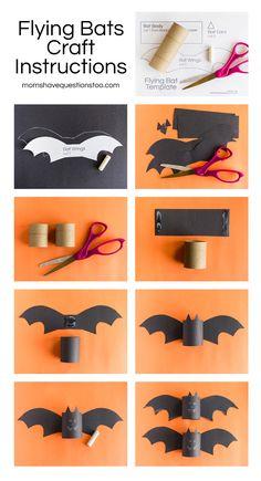 Flying-Bat-Craft.jpg 1500 × 2771 pixlar