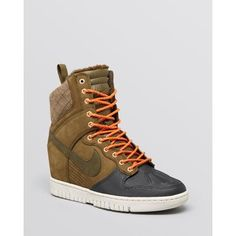Nike High Top Sneakers - Women's Dunk Sky Hi Sneakerboot